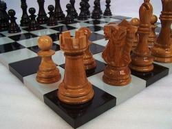 Большие шахматные фигуры - только фигуры (без доски)