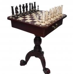Шахматные столы для соревнований и дизайнерские