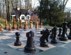 Готовые шахматные комплекты (фигуры + доска)