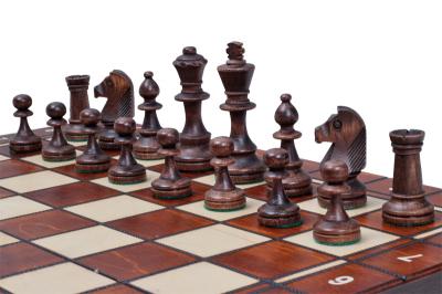 Шахматы Стаунтон 4 черные