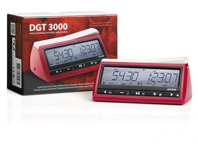 Шахматные часы DGT 3000 в упаковке