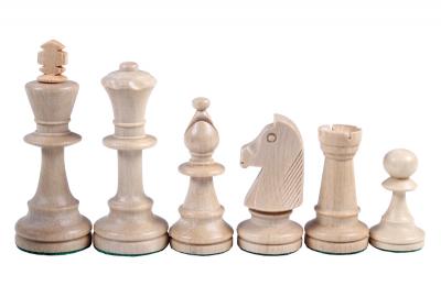 Стаунтон 5 - шахматные фигуры белые