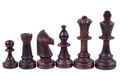 Шахматные фигуры Стаунтон 5, черные