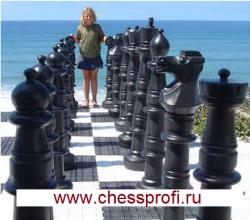 Гигантские шахматы (Фигуры) - Размер 48`` Большие