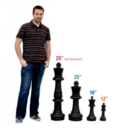 Гигантские шахматы (Фигуры) - Размер 16
