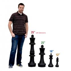 Гигантские шахматы (Фигуры) - Размер 8