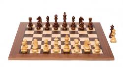 Комплект шахмат Timeless Walnut (фигуры + доска)