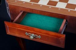 Шахматный стол с ящиком