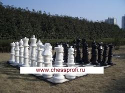 Гигантские шахматы 36`` - комплект: шахматы+доска