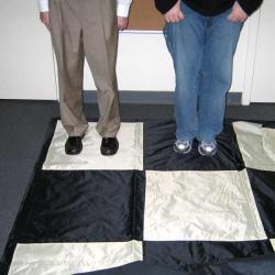 Большая доска 24`` для больших шахмат - Нейлон
